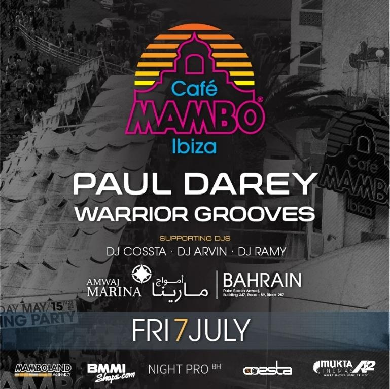 MAMBO ON TOUR - BAHRAIN