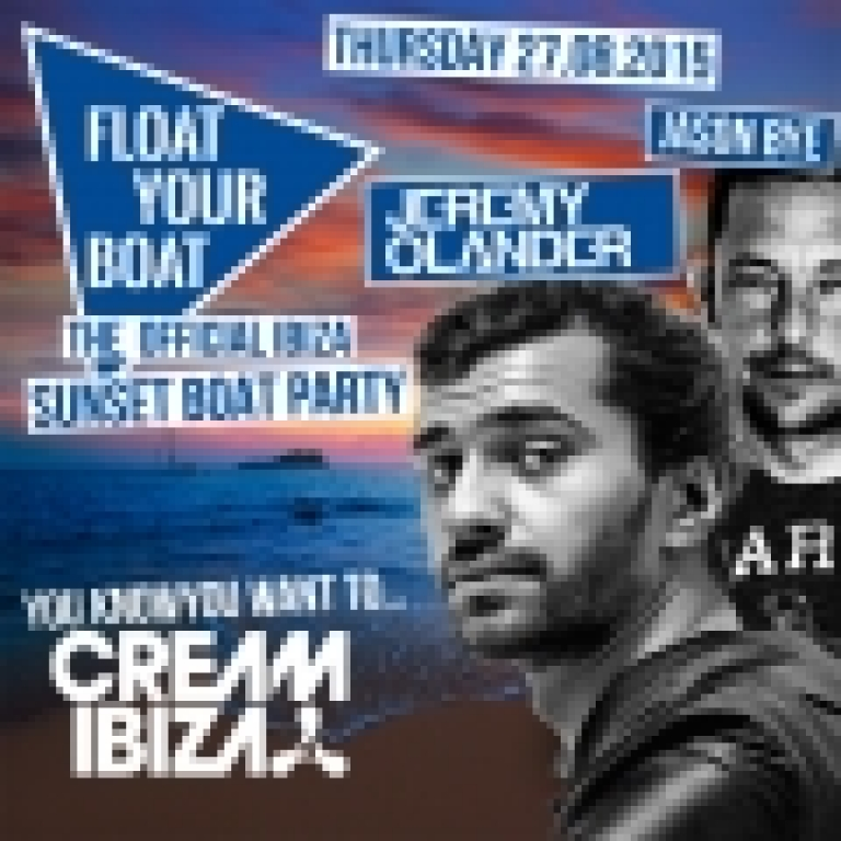 Cream Float Your Boat