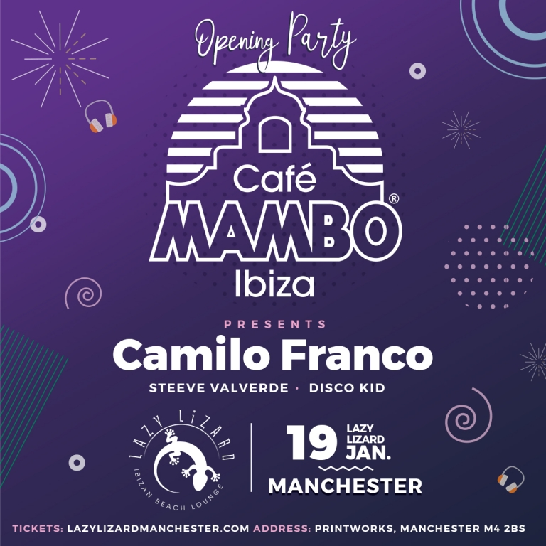 Cafe Mambo on Tour - Manchester