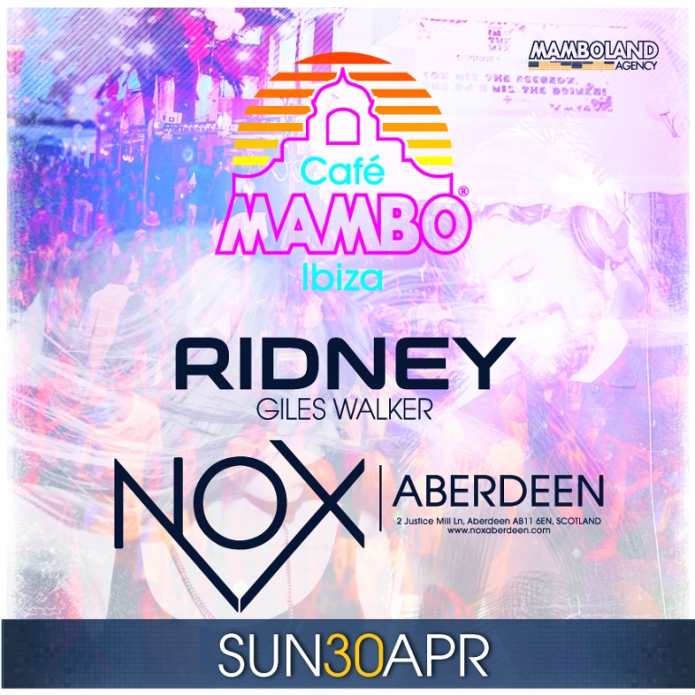 MAMBO ON TOUR - ABERDEEN