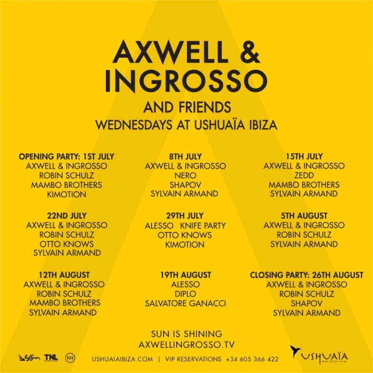 Axwell & Ingresso
