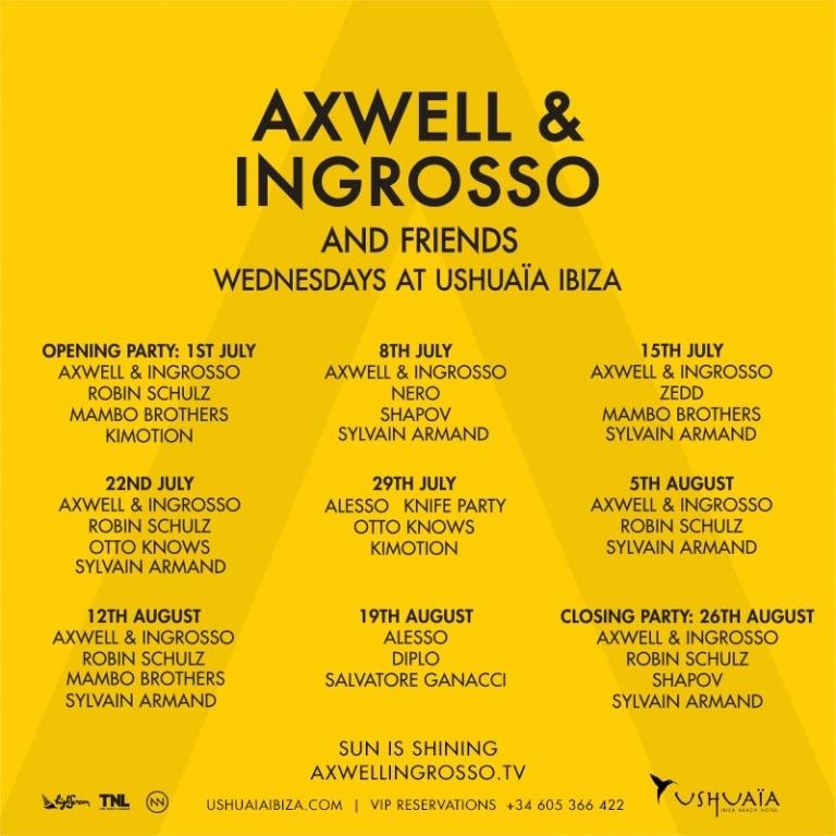 Axwell & Ingresso