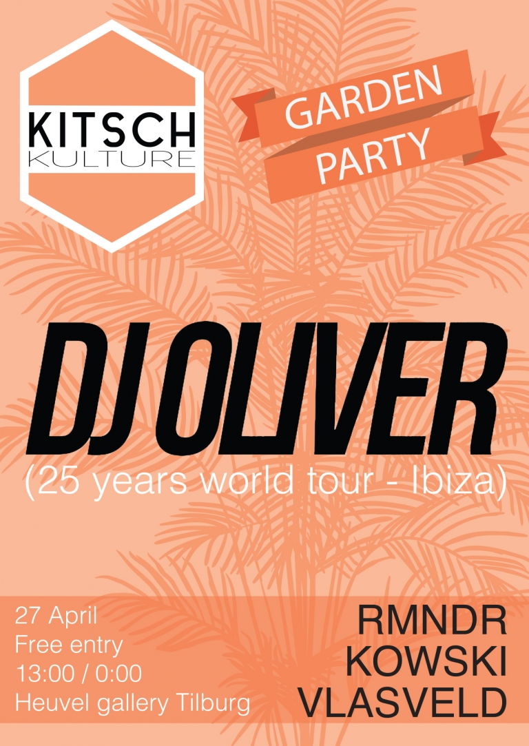 DJ Oliver 25 Years World Tour - Holland