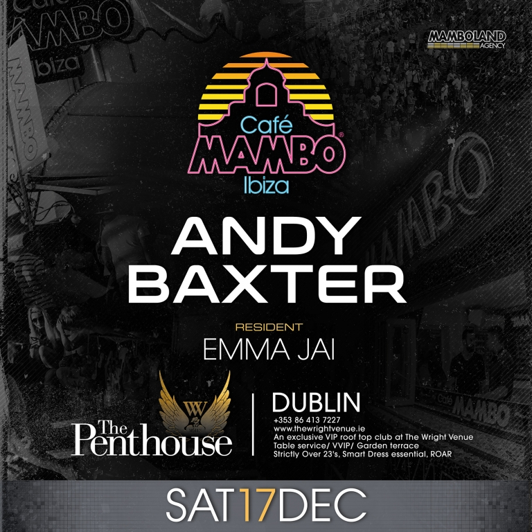 MAMBO ON TOUR - DUBLIN
