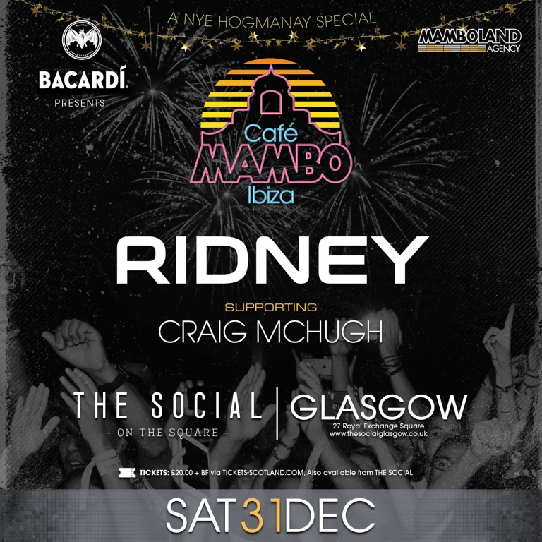 MAMBO ON TOUR - GLASGOW