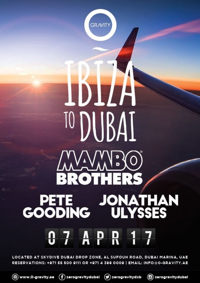 Ibiza to Dubai