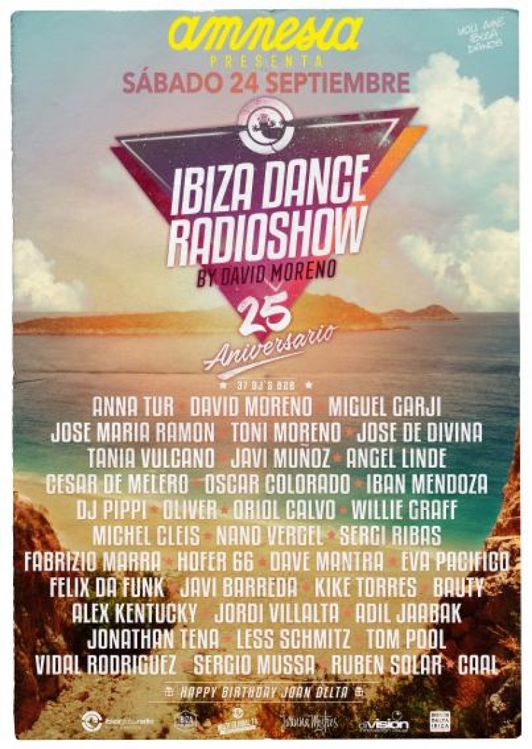 Ibiza Dance 25th Anniversary