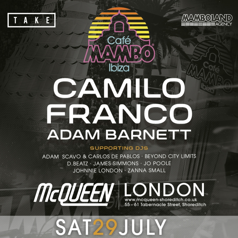 MAMBO ON TOUR - LONDON