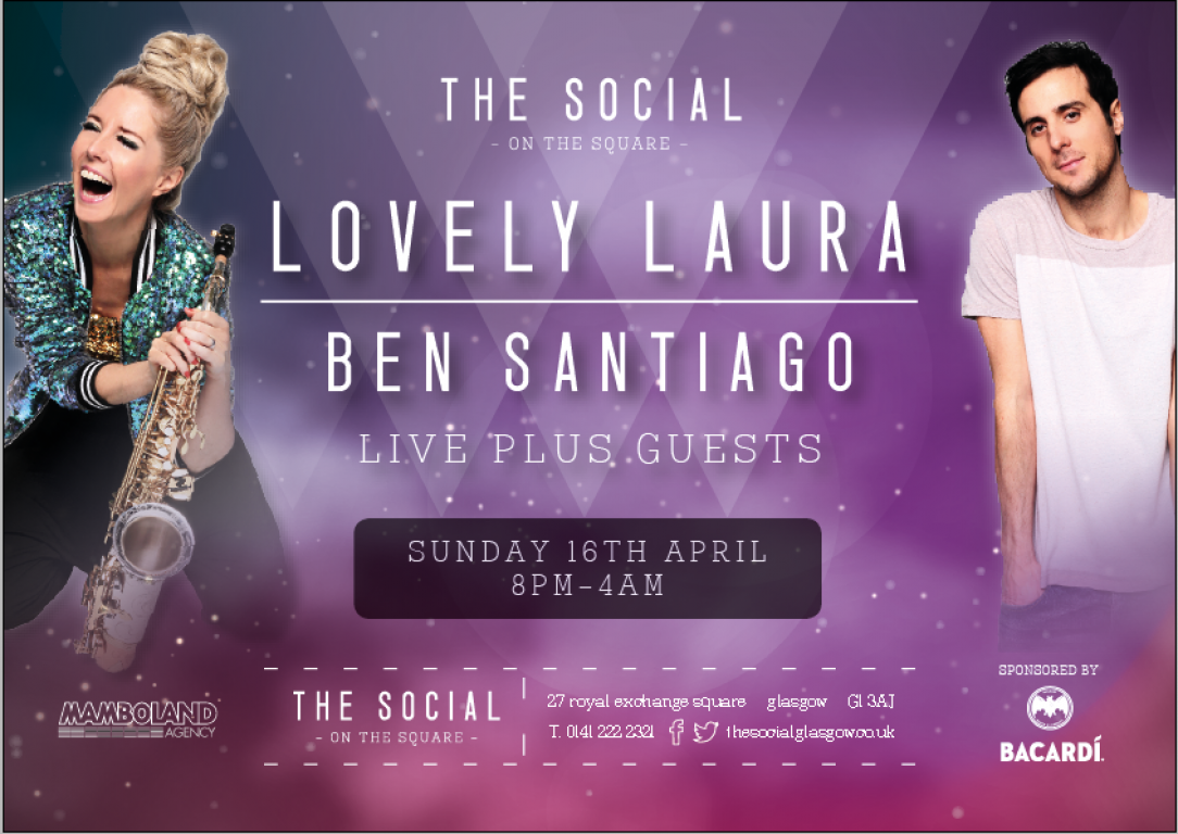 Lovely Laura & Ben Santiago @The Social