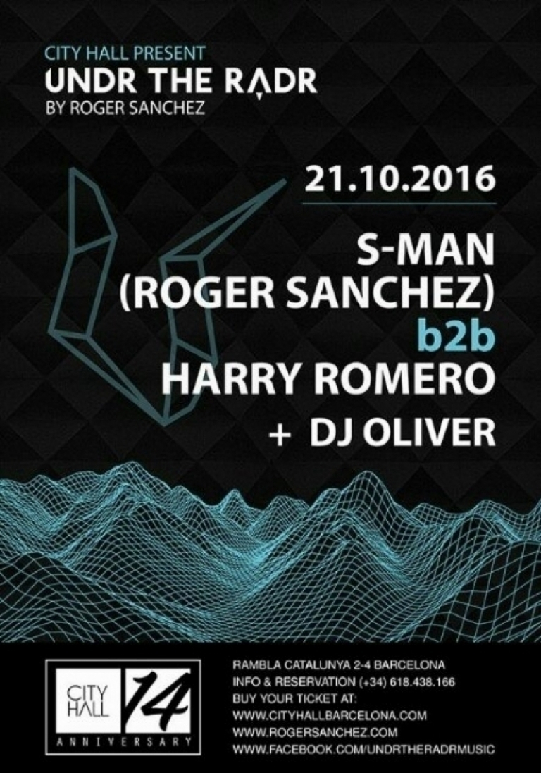 Undr the Radr         by Roger Sanchez
