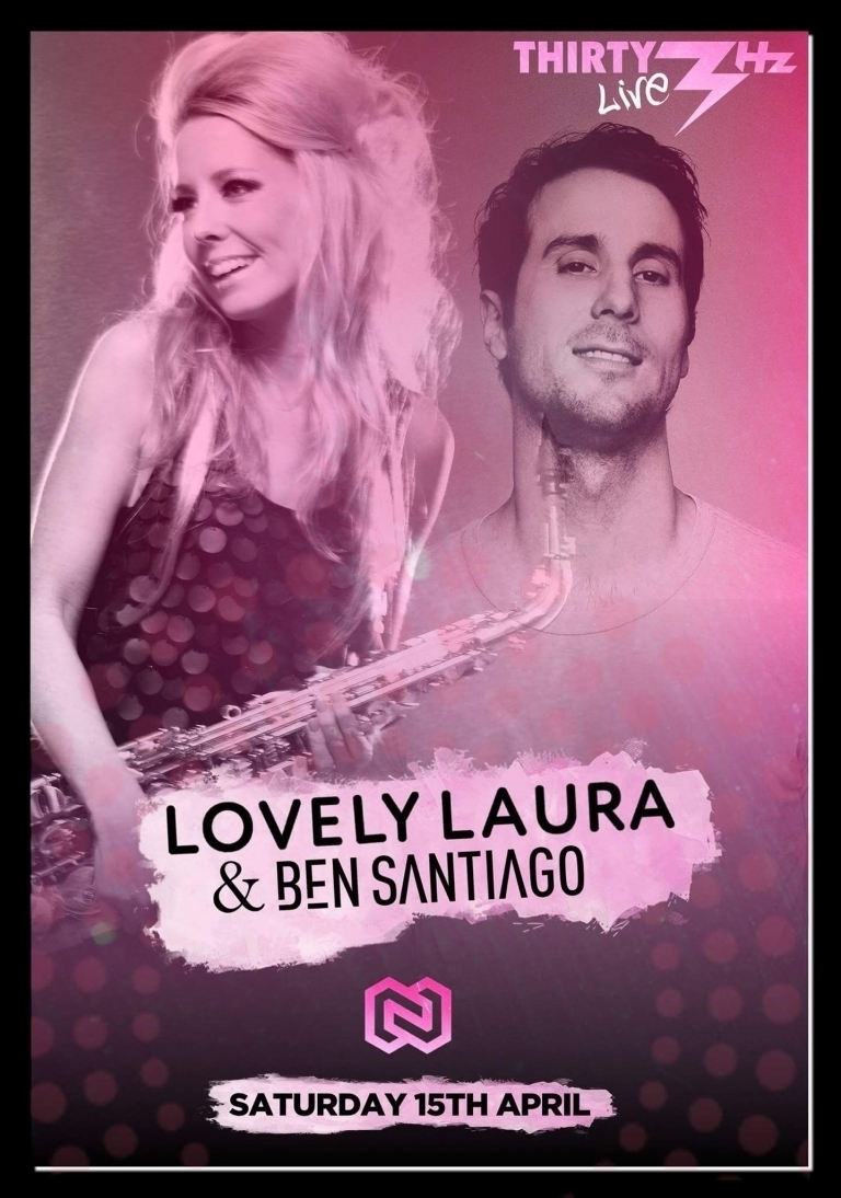 Lovely Laura & Ben Santiago @Thirty3Hz