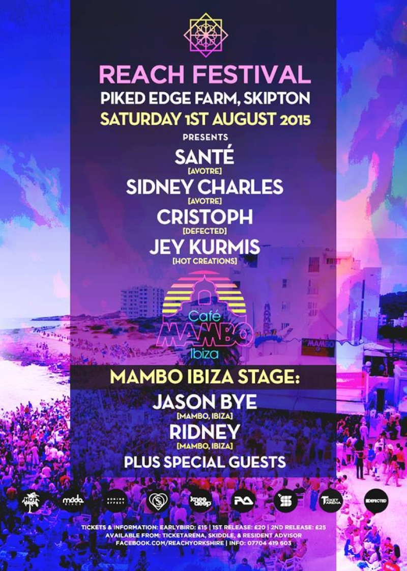 Cafe Mambo join Reach Festival