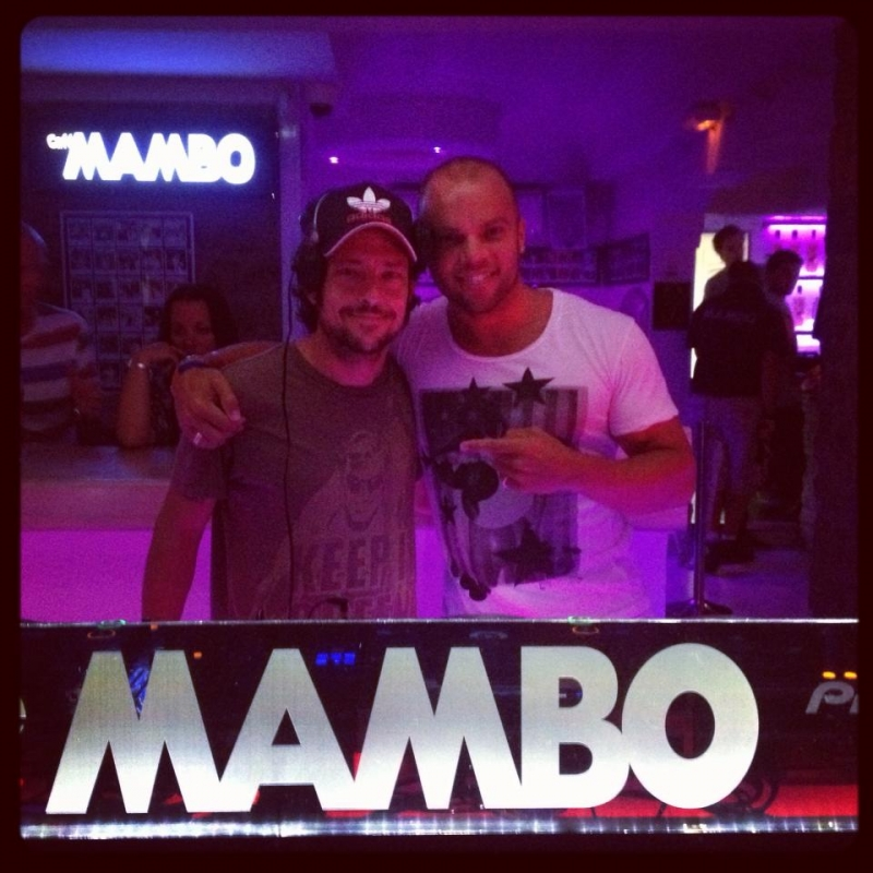 Cafe Mambo Speak to Jason Bye