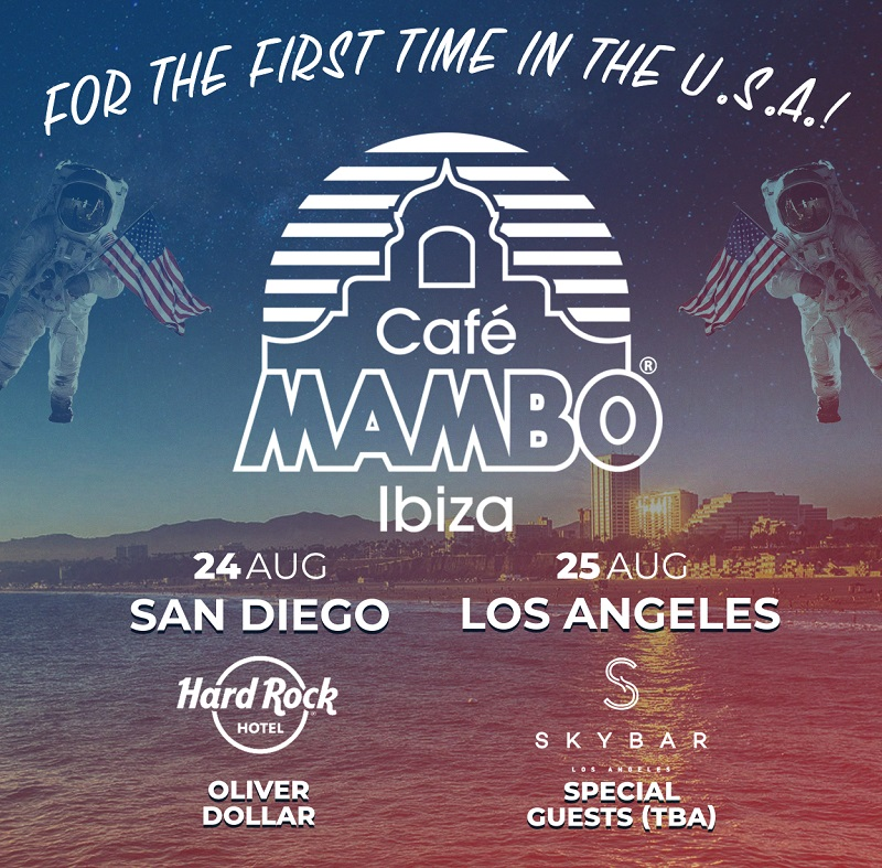 For the first time ever... Cafe Mambo Ibiza in the USA!