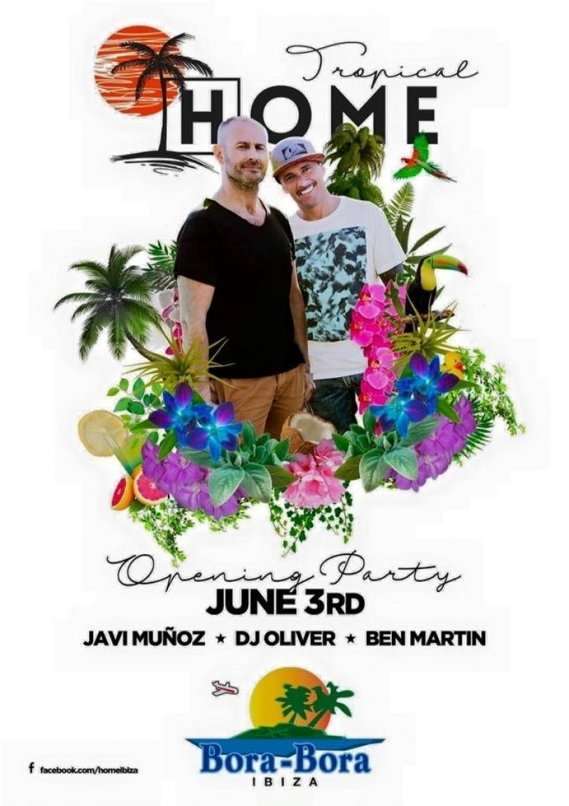 DJ Oliver kicks off Tropical Home @Bora Bora